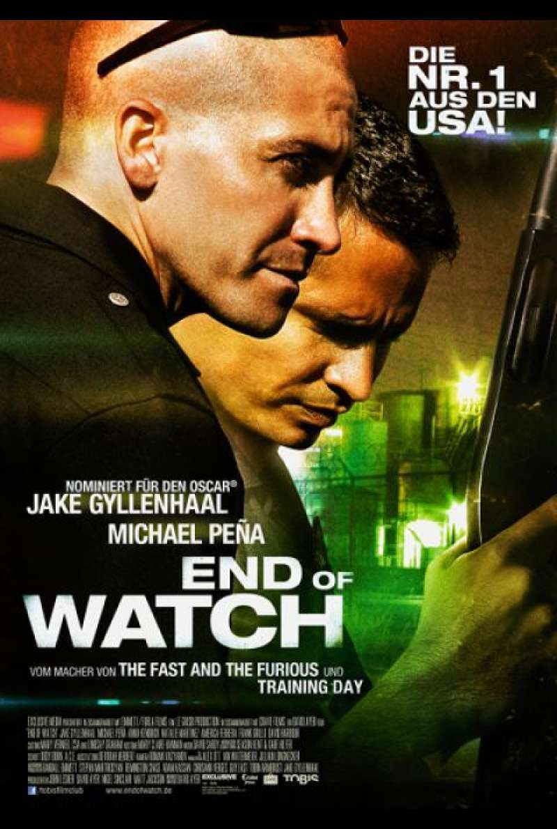 End of Watch - Filmplakat