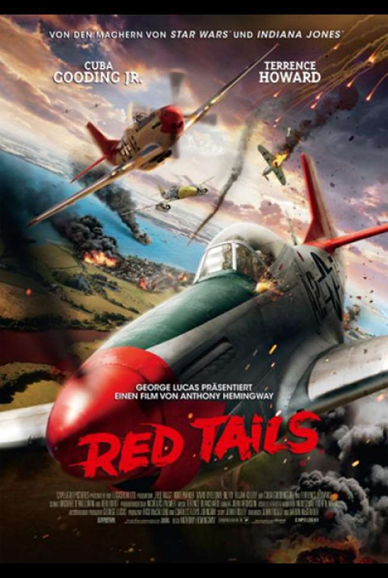 Red Tails - Filmplakat