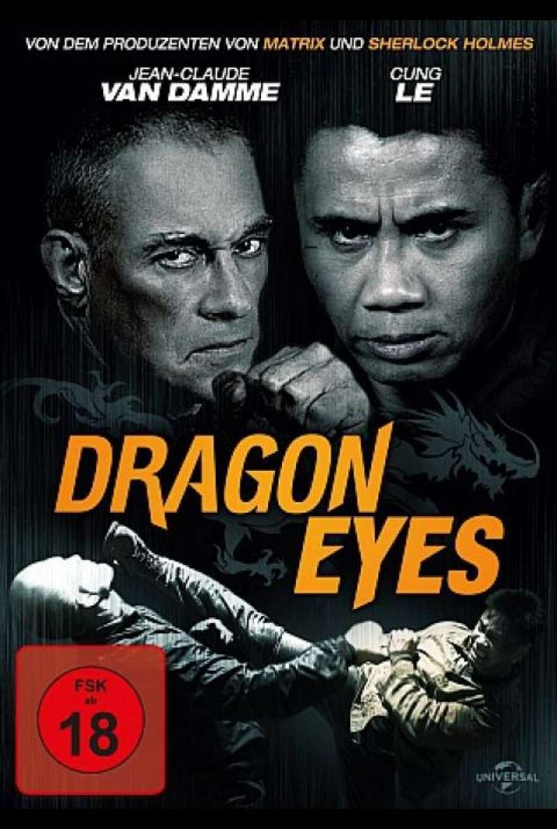 Dragon Eyes - DVD-Cover