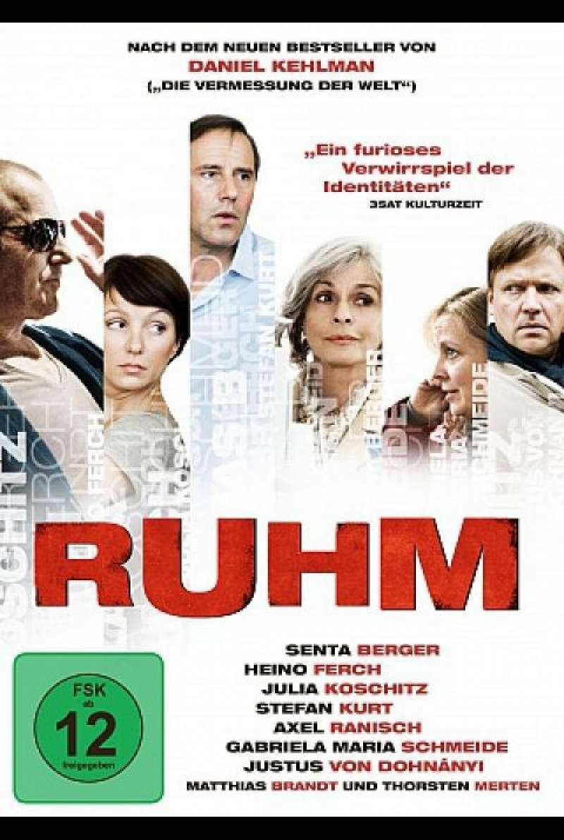 Ruhm - DVD-Cover