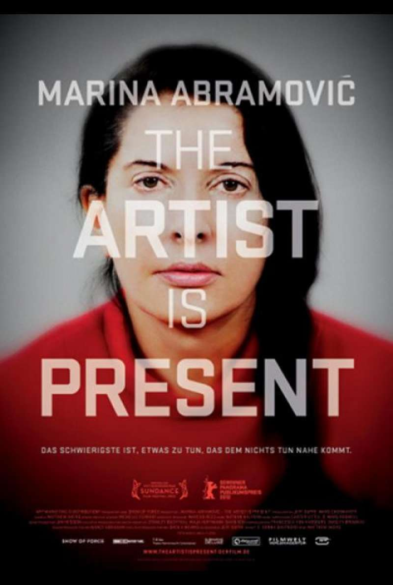 Marina Abramović: The Artist is Present - Filmplakat