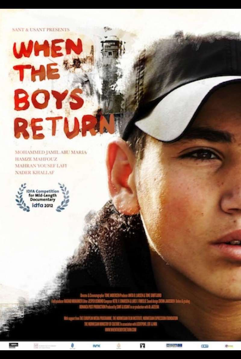 When the Boys Return - Filmplakat (INT)