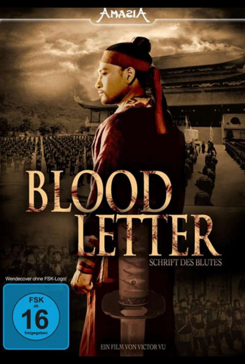 Blood Letter - DVD-Cover