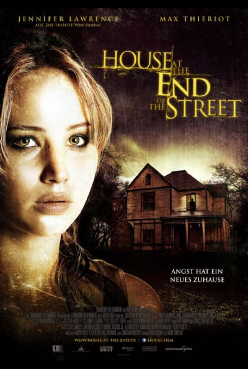 House at the End of the Street - Filmplakat