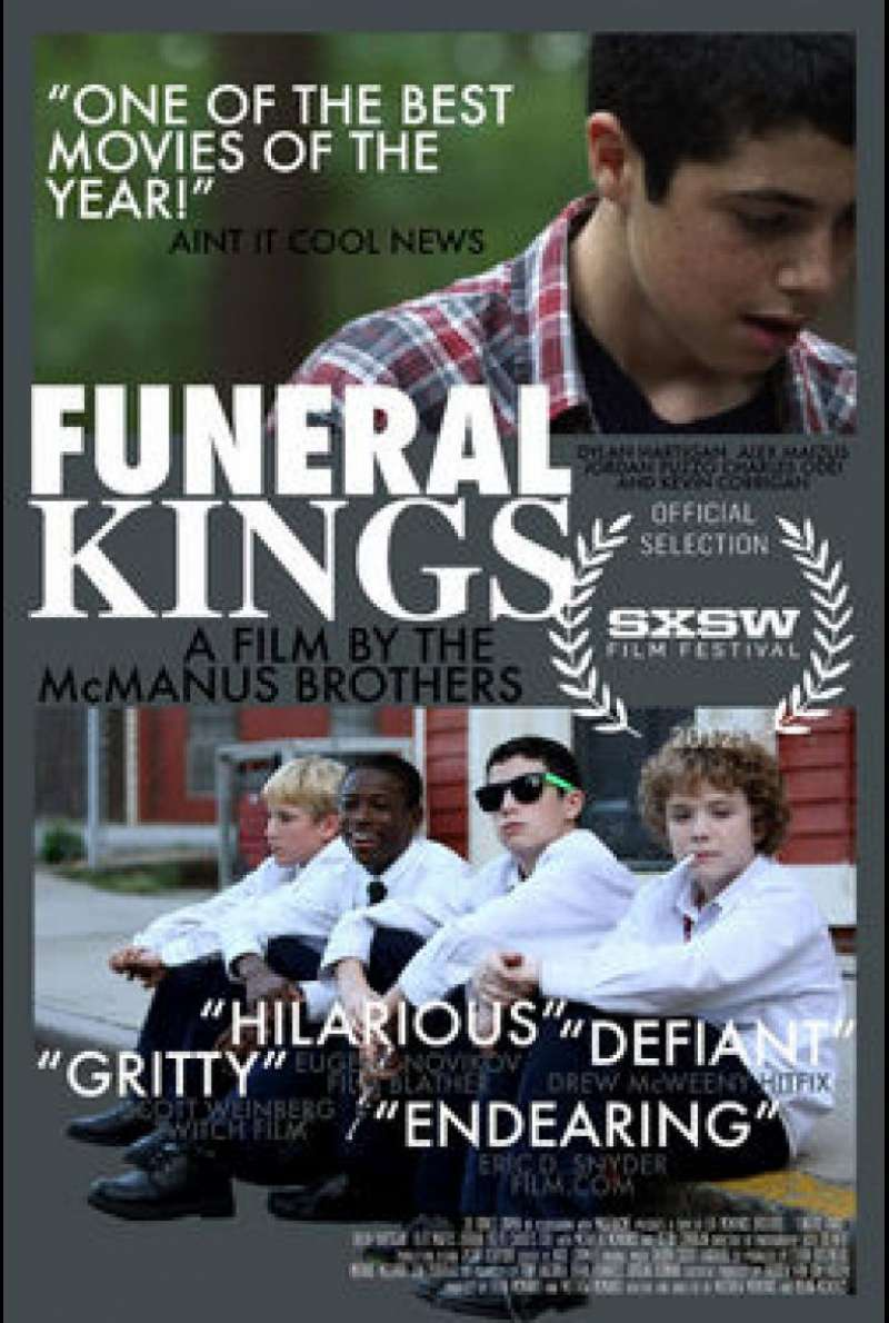 Funeral Kings - Filmplakat (US/klein)