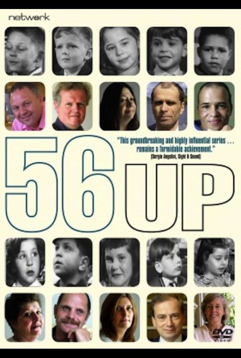 56 Up - DVD Cover