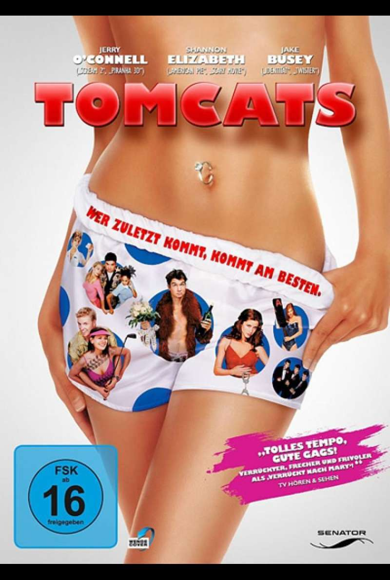 Tomcats - DVD-Cover