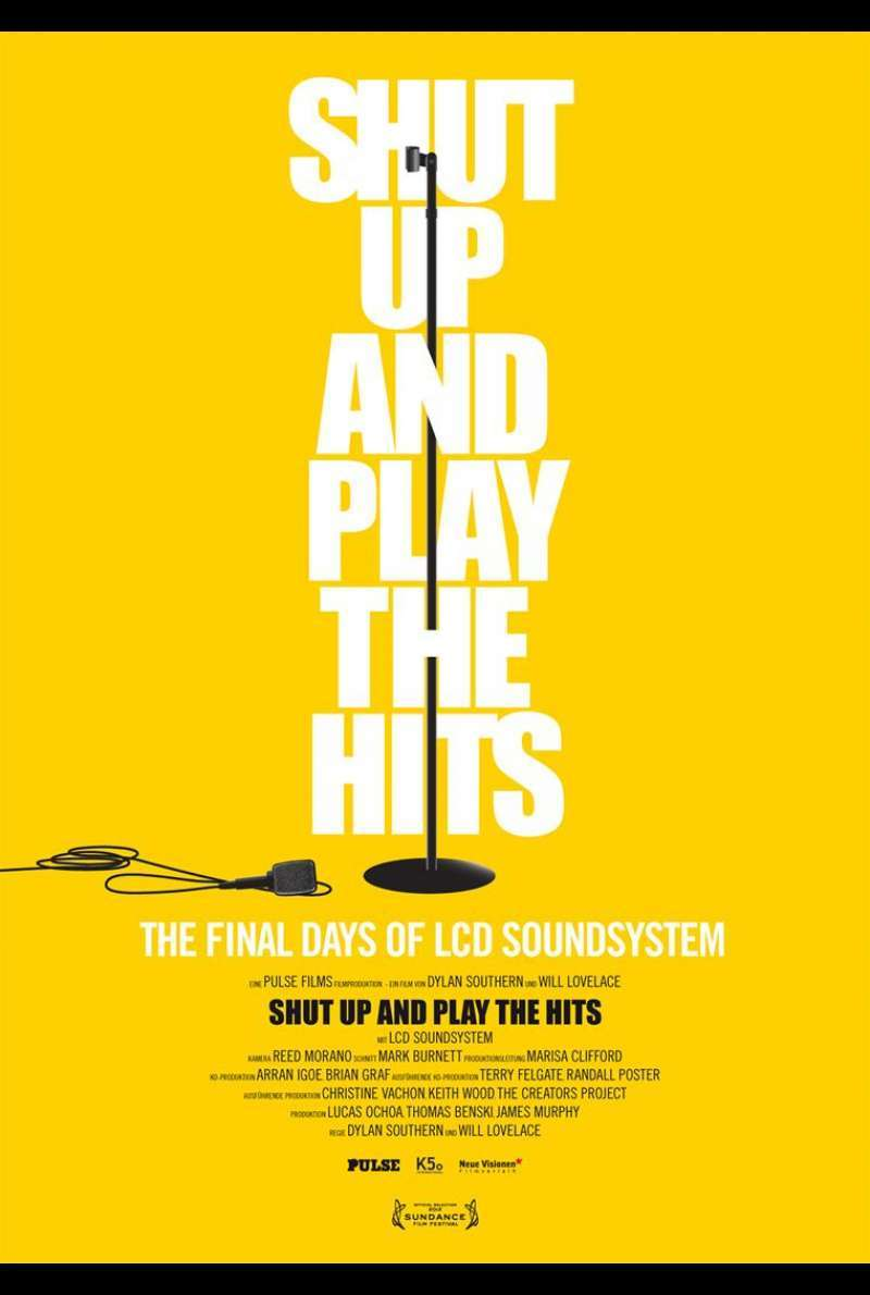 Shut Up and Play the Hits - Filmplakat