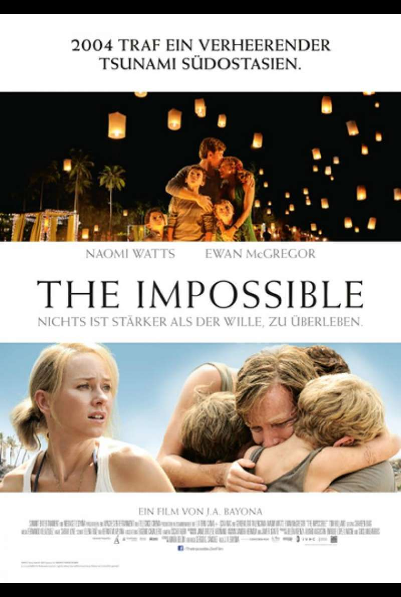 The Impossible - Filmplakat