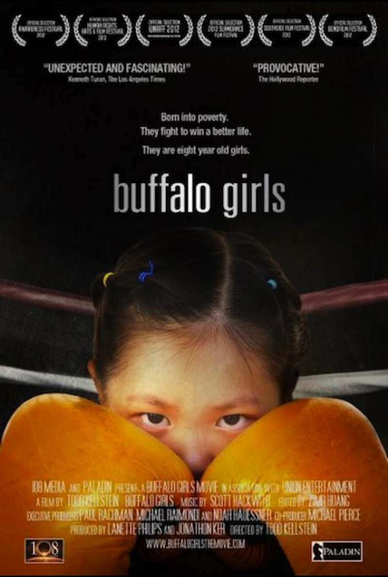 Buffalo Girls - Filmplakat (INT)
