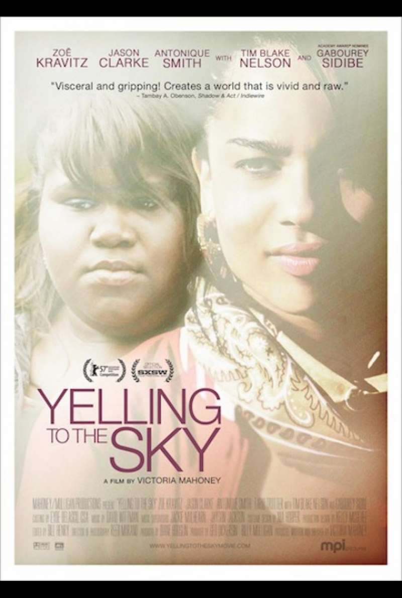 Yelling to the Sky - Filmplakat (US)