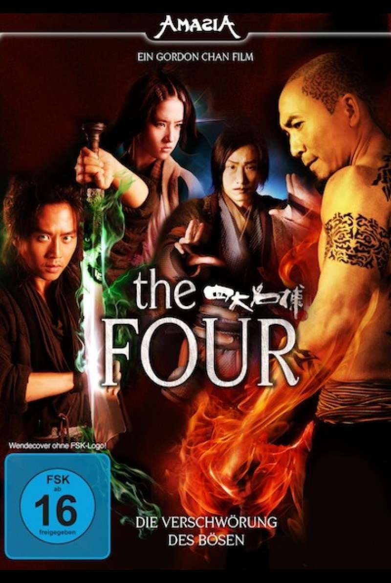 The Four - DVD-Cover