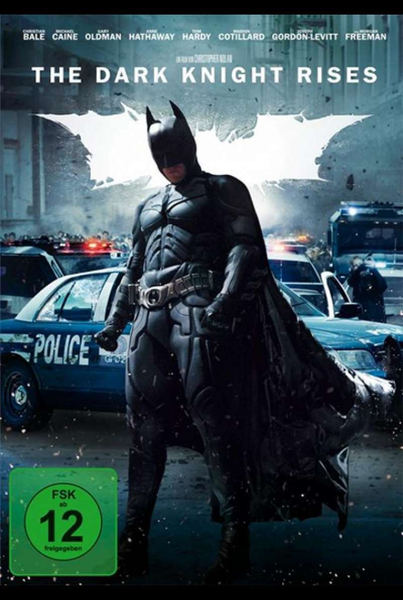The Dark Knight Rises - DVD-Cover