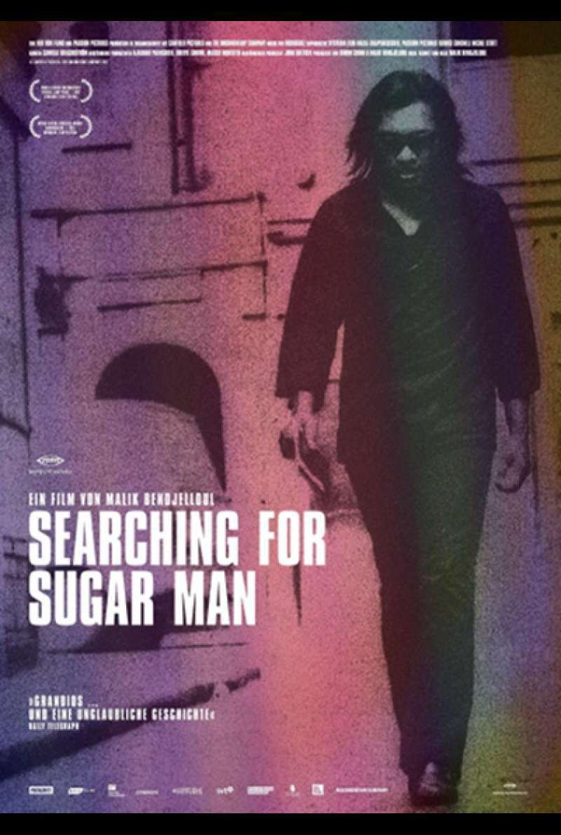 Searching for Sugar Man - Filmplakat