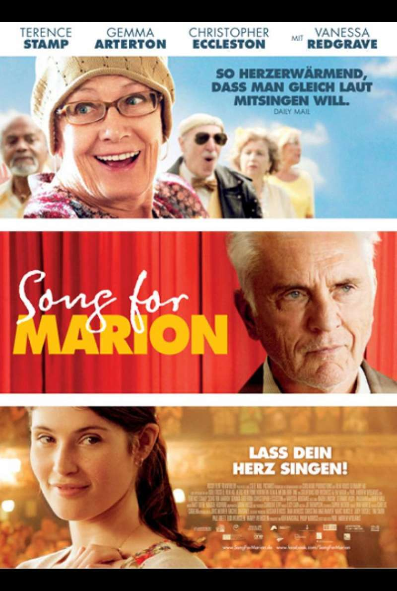 Song for Marion - Filmplakat