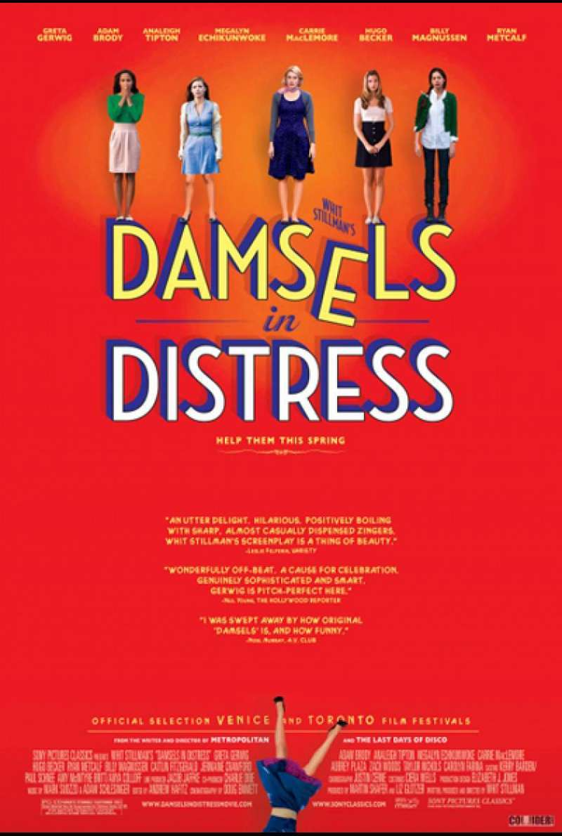 Damsels in Distress - Filmplakat (INT)