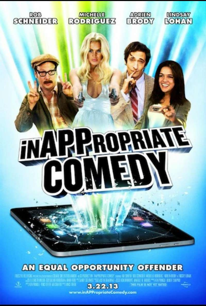InAPPropriate Comedy - Filmplakat (US)
