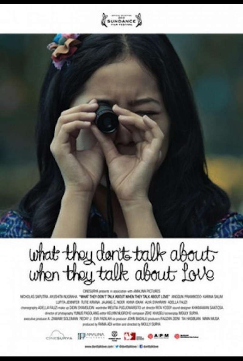 What They Don't Talk About When They Talk About Love - Filmplakat (INT)