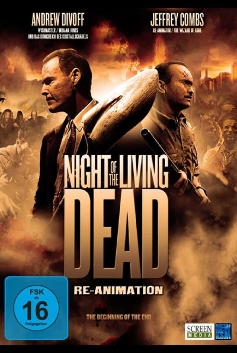Night of the Living Dead: Re-Animation - DVD-Cover