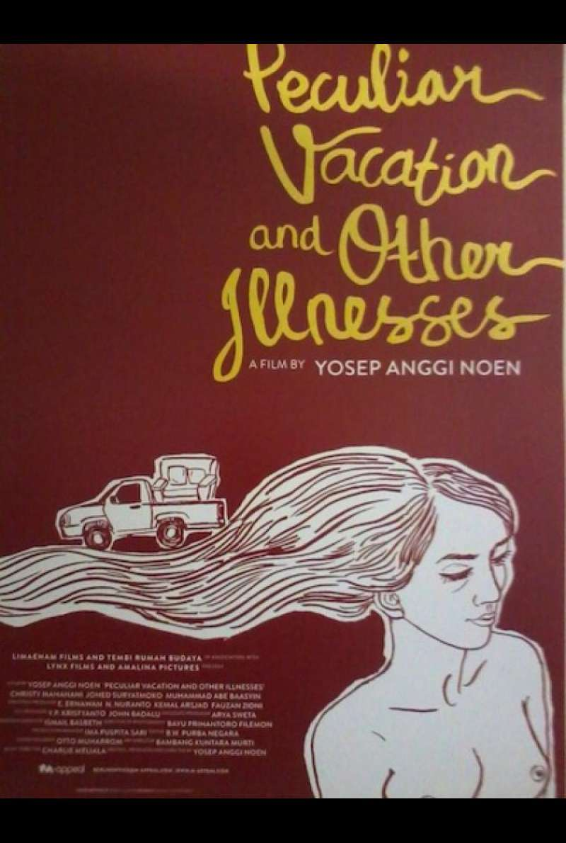 Peculiar Vacation and Other Illnesses - Filmplakat (INT)
