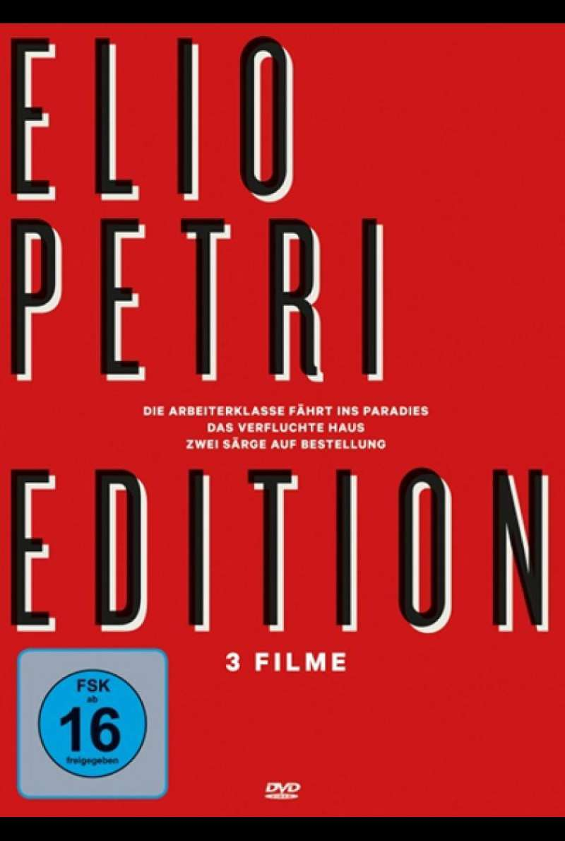 Elio Petri Edition - DVD-Cover