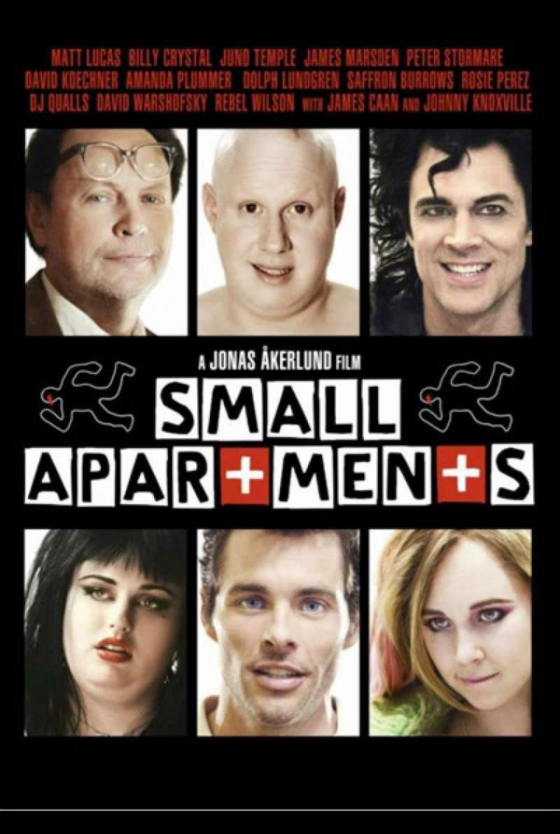 Small Apartments - Filmplakat (US)