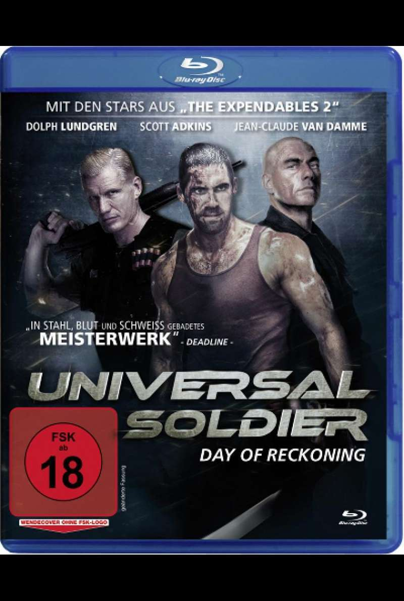 Universal Soldier: Day of Reckoning - Blu-ray-Cover