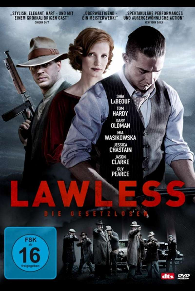 Lawless - DVD-Cover
