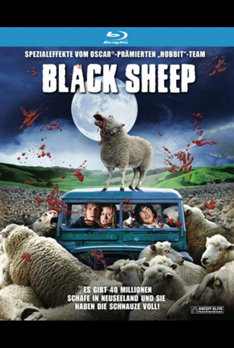 Black Sheep - Blu-ray-Cover