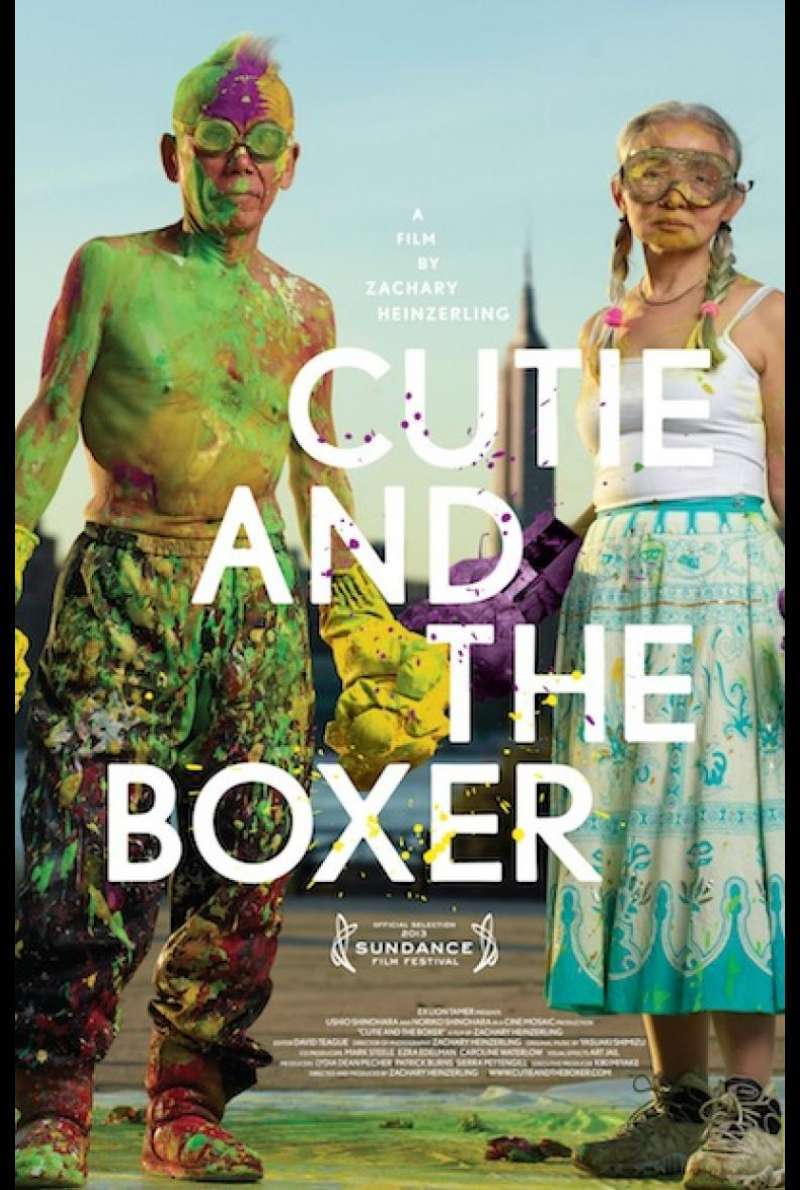 Cutie and the Boxer - Filmplakat (US)