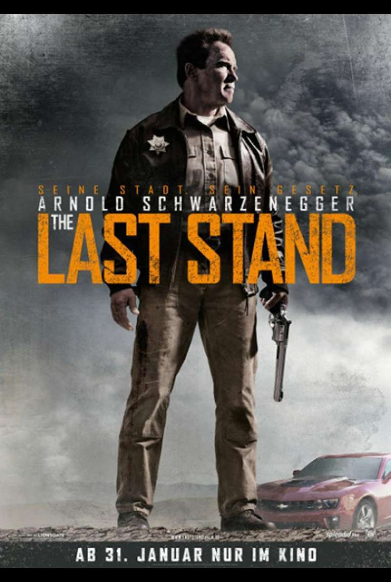 The Last Stand - Teaserplakat