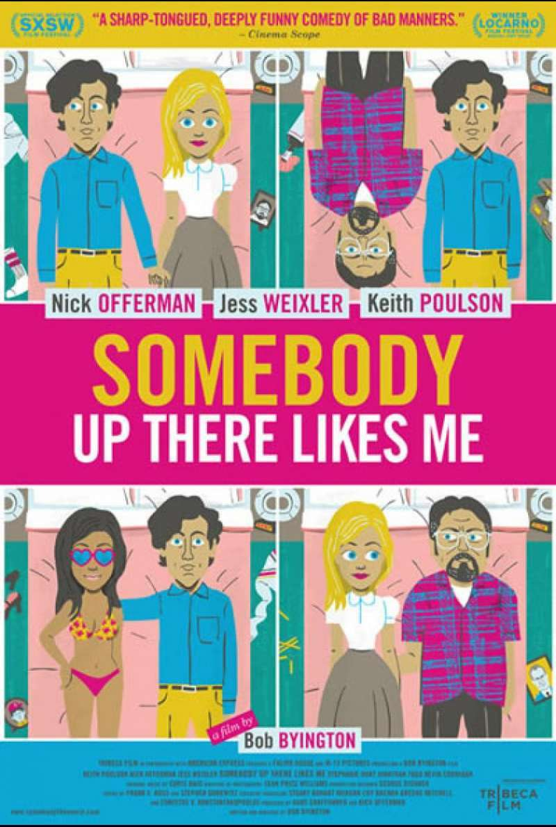 Somebody Up There Likes Me - Filmplakat (US)