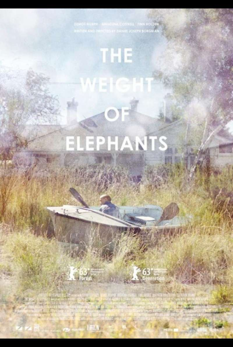 The Weight of Elephants - Filmplakat (INT)