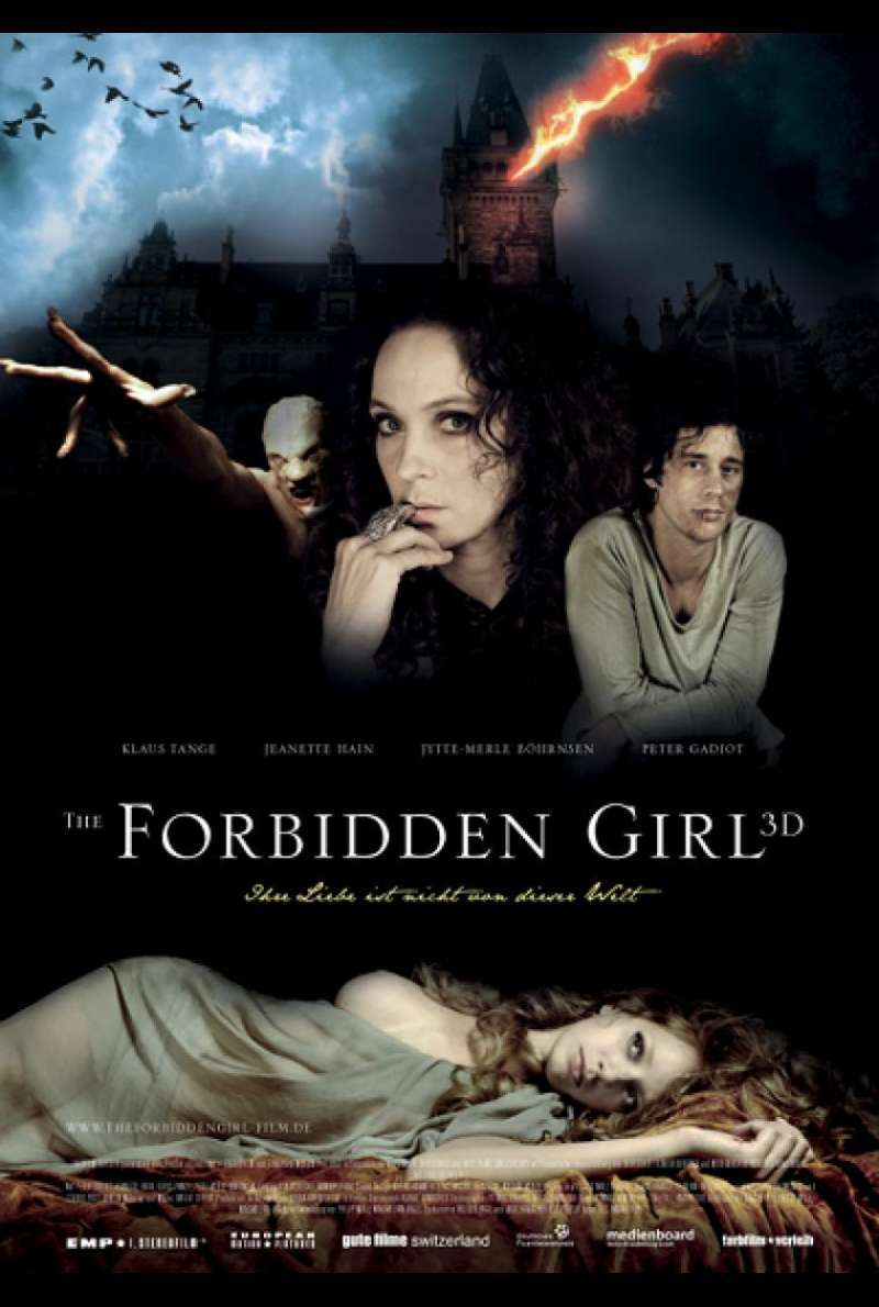 The Forbidden Girl - Filmplakat