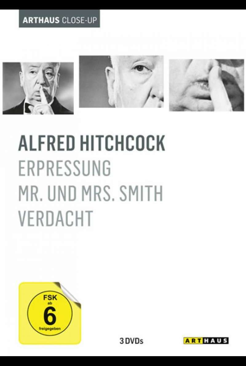 Alfred Hitchcock Arthaus Close-Up - DVD-Cover