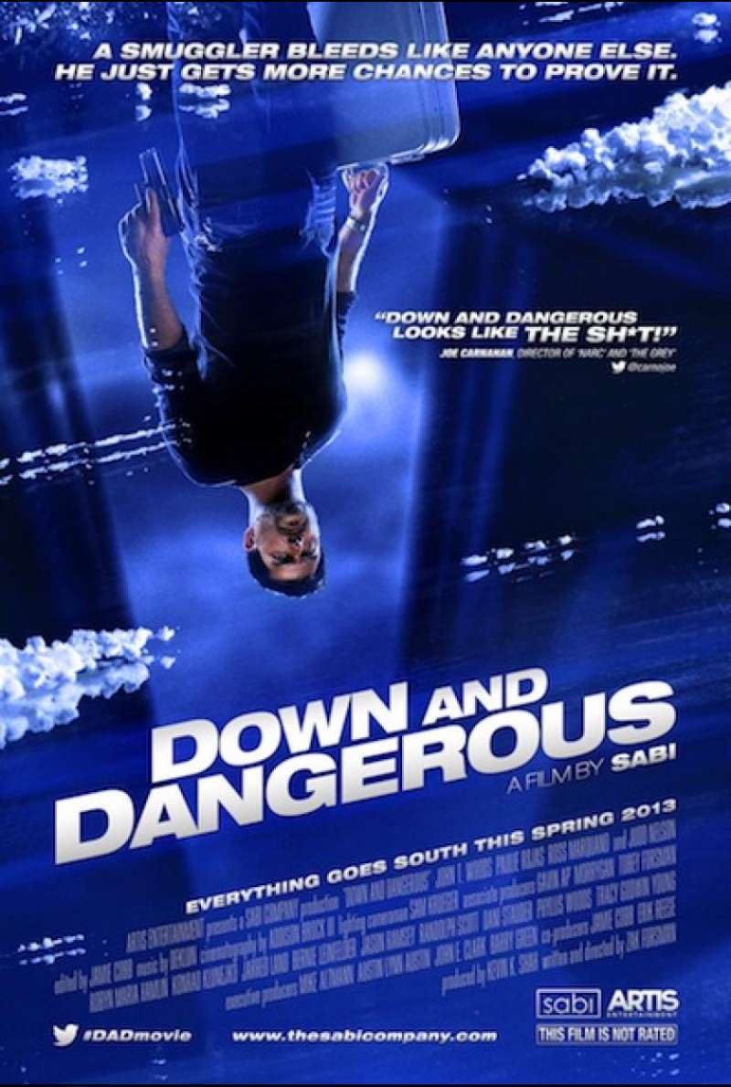 Down and Dangerous - Filmplakat (US)