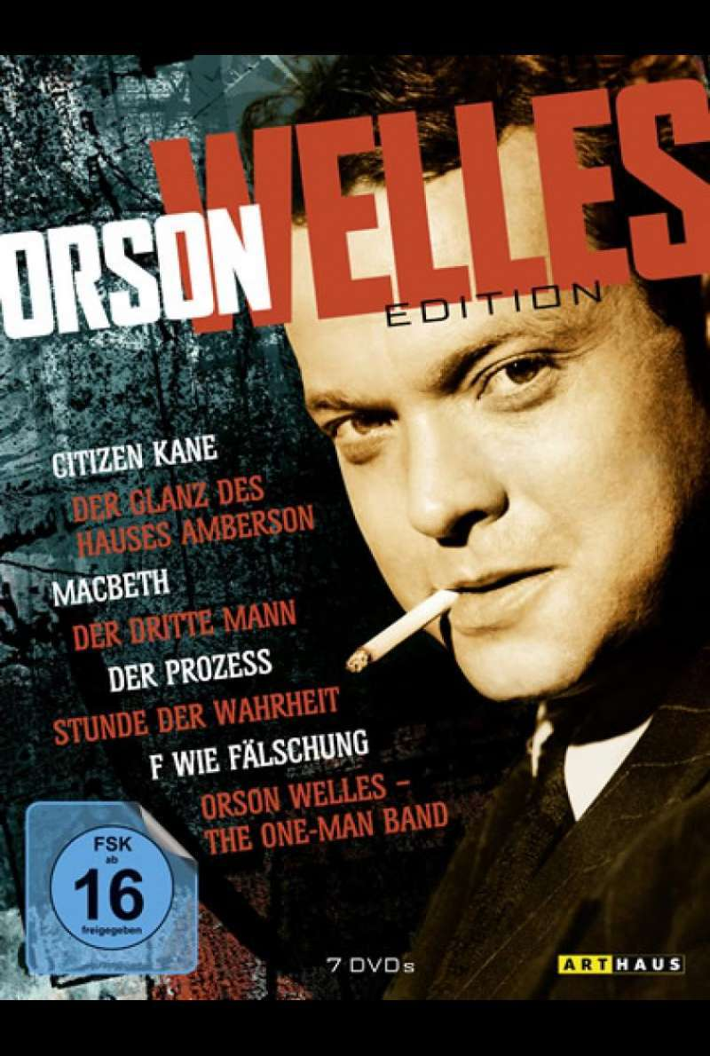 Orson Welles Edition - DVD-Cover