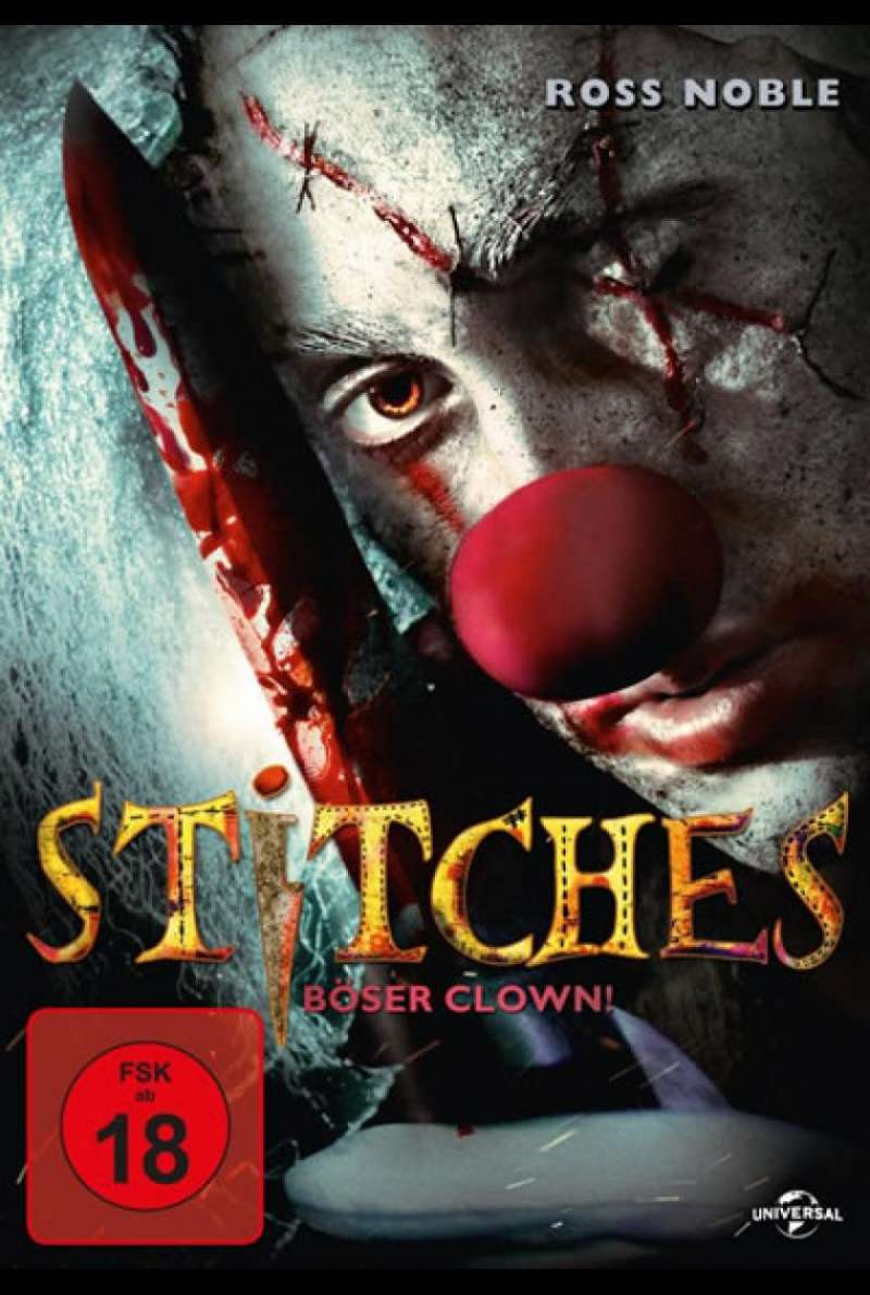 Stitches- Böser Clown! (DVD-Cover)