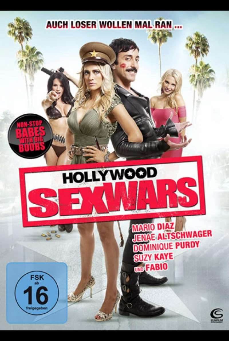 Hollywood Sex Wars - DVD-Cover