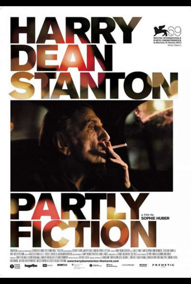 Harry Dean Stanton: Partly Fiction - Filmplakat (US)