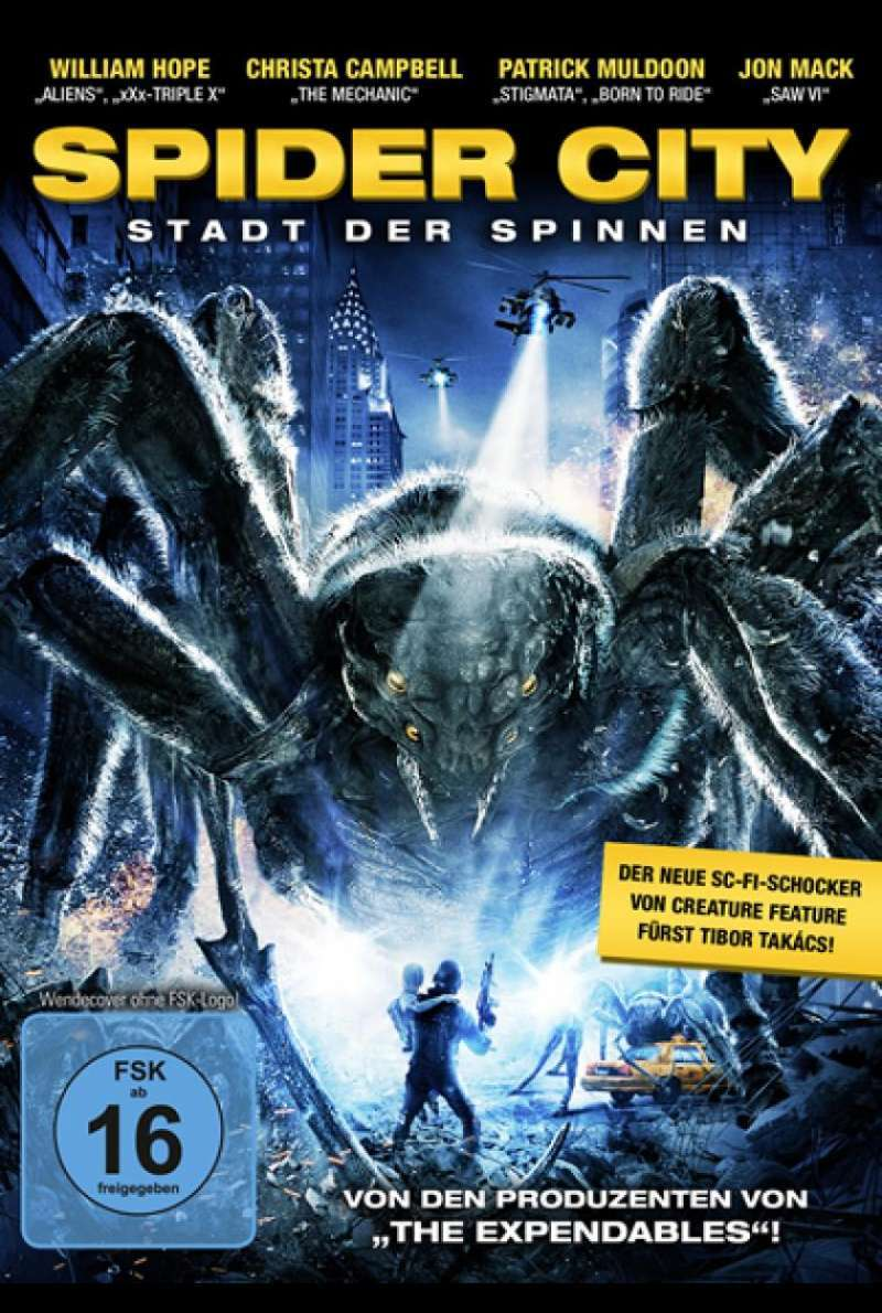 Spider City - DVD-Cover