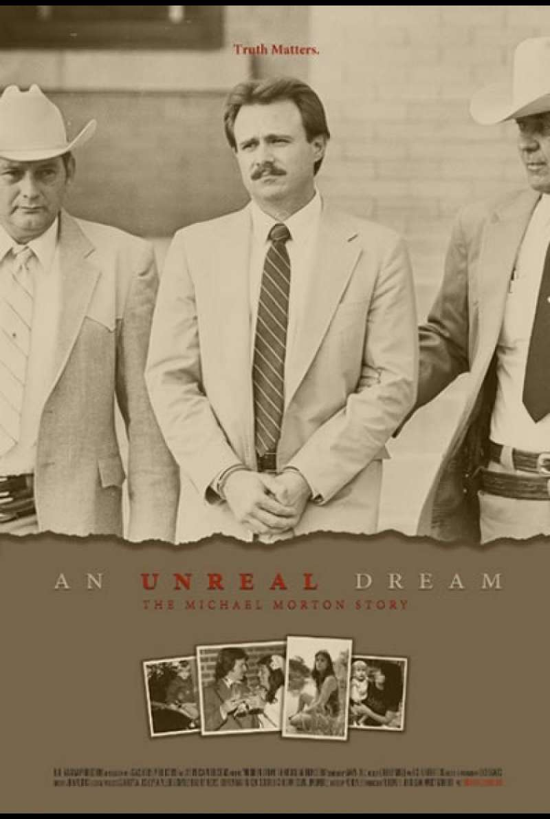 An Unreal Dream: The Michael Morton Story - Filmplakat (US)