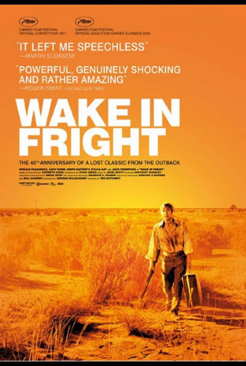 Wake in Fright - Filmplakat (CA)