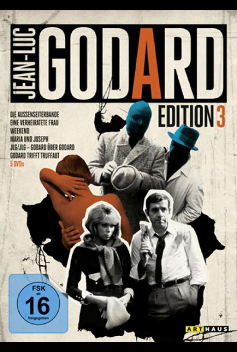 Jean-Luc Godard Edition 3 - DVD_Cover