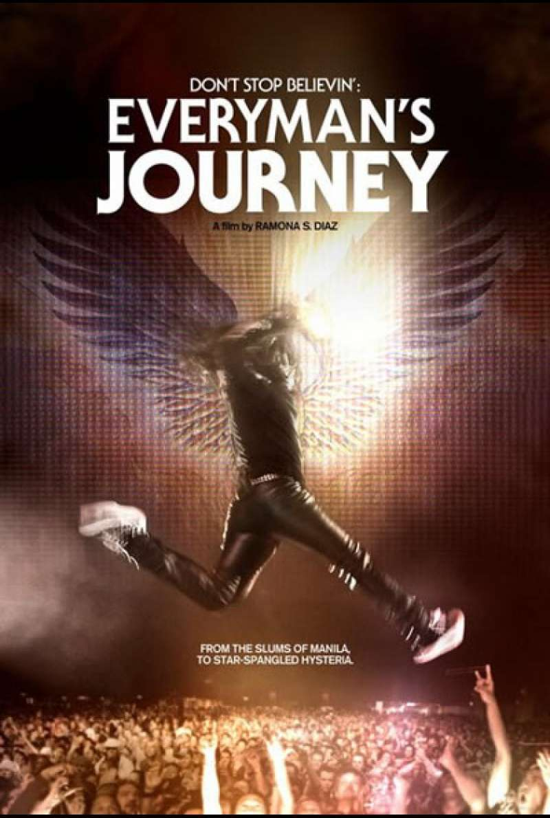 Don`t Stop Believin´: Everyman`s Journey - Filmplakat (US)