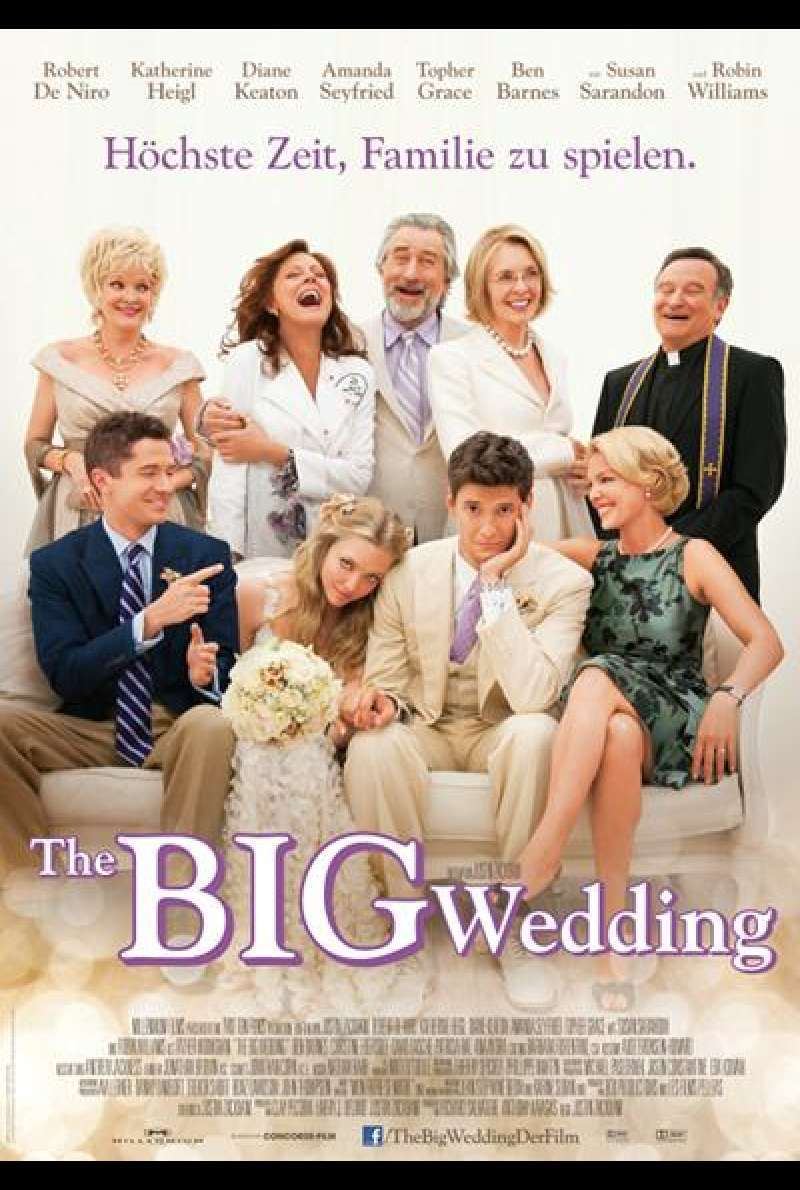 The Big Wedding - Filmplakat