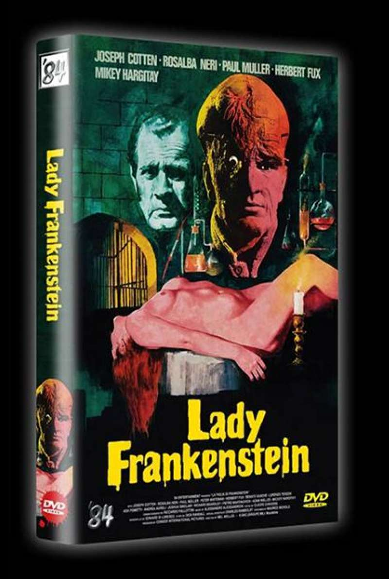Lady Frankenstein - DVD-Cover