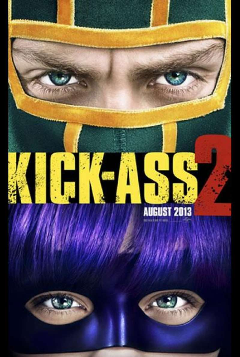 Kick-Ass 2 - Filmplakat (US)