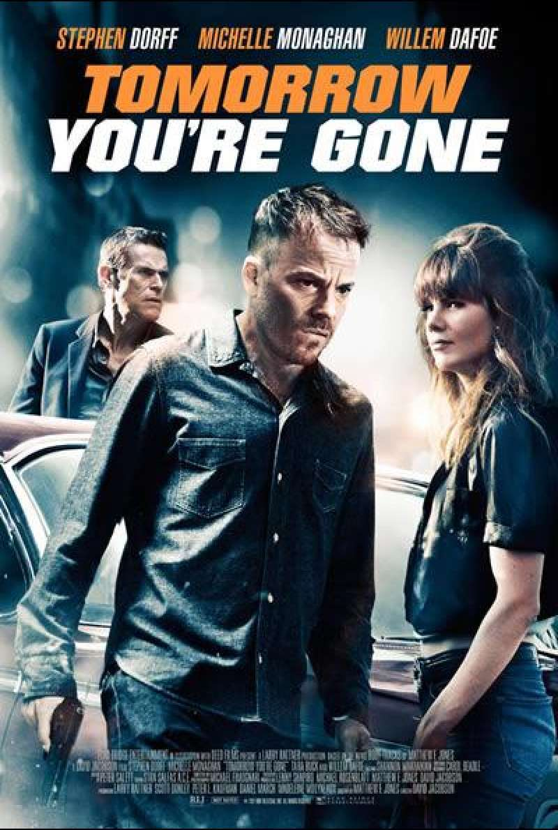 Tomorrow You're Gone - Filmplakat (US)