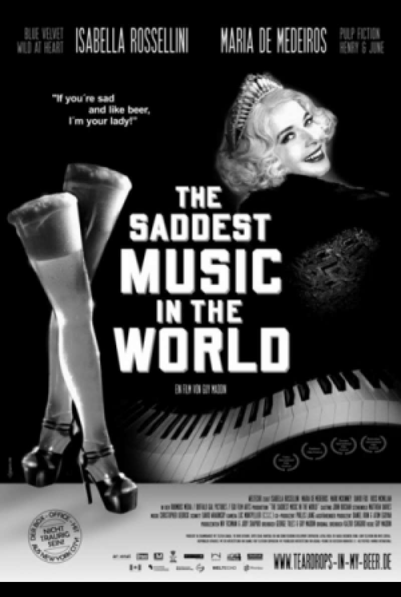 The Saddest Music In The World - Filmplakat